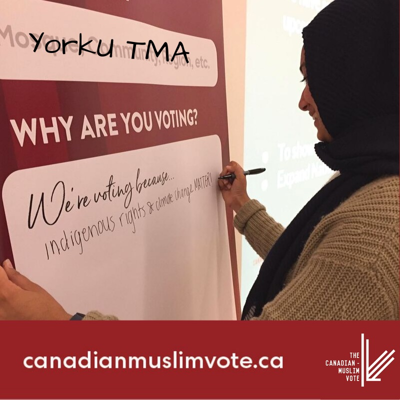 """Muslim Vote Weekend"" Campaign Mobilizes Canadian Muslims to Vote - About Islam"
