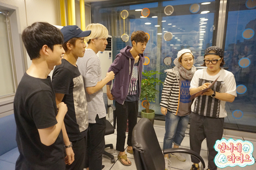 jung joon young and drug restaurant @ unnies radio 20160720 1