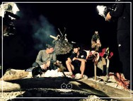 Jung Joon Young in the island of Timor-Leste in Law of the Jungle
