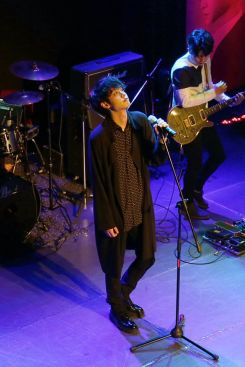 Jung Joon Young performing at his Sympathy showcase on Feb 24, 2016