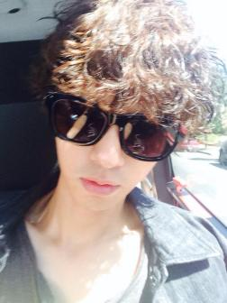 Jung Joon Young saying thank you for 1st debut anniversary in 2014
