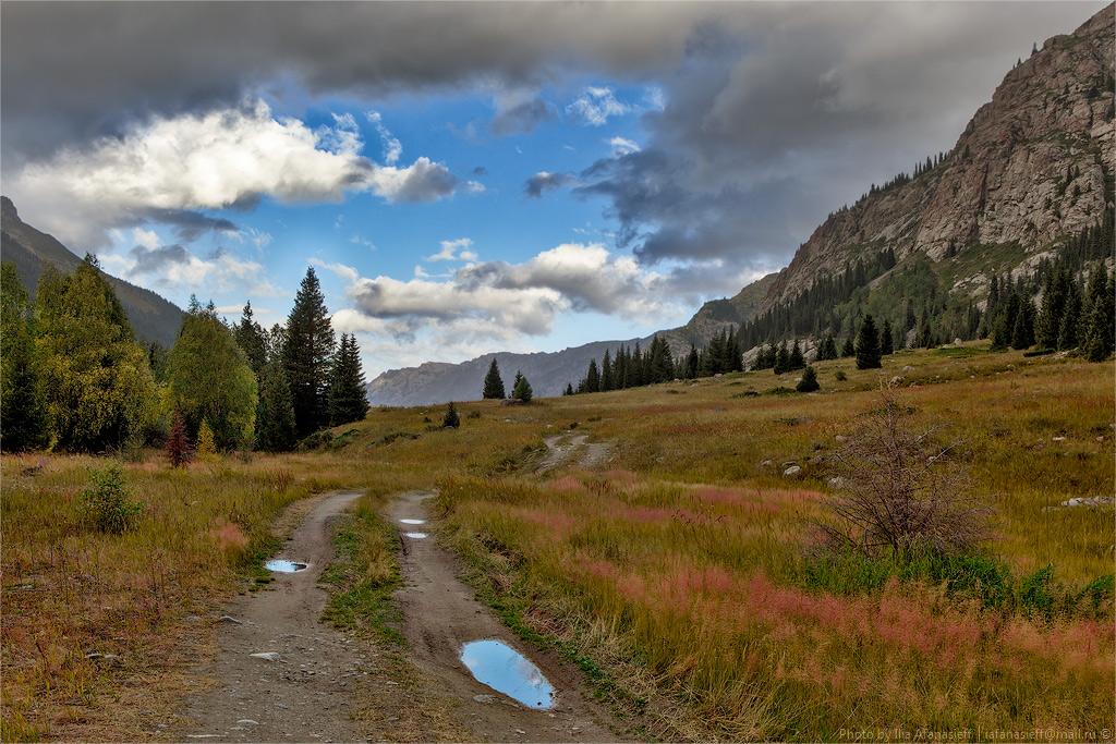 Beautiful Mountain Scenery Of Dzungaria 183 Kazakhstan