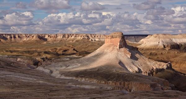 unique landscape of ustyurt