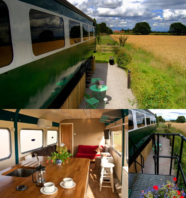 Skipworth Station - Quirky Places to Stay