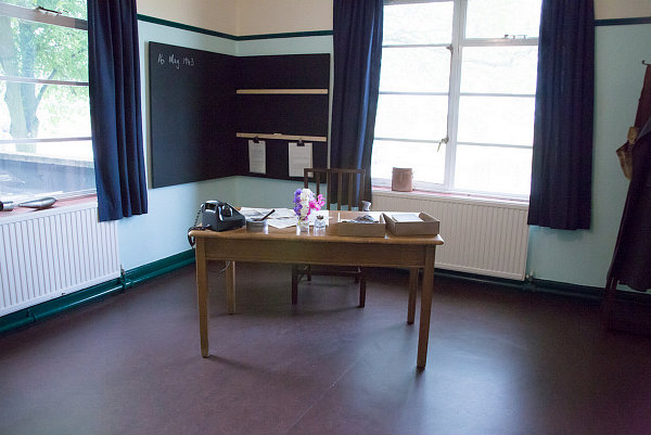 Guy Gibson's Office at RAF Scampton