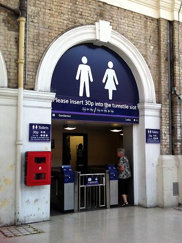 30p toilets
