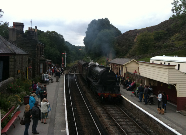 North Yorkshire Moors Railway - Goathland