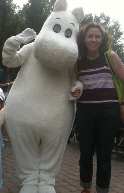 Laura Porter and Moomintroll