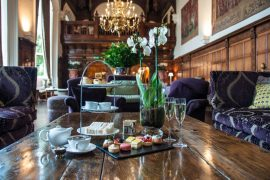 Danefield House Hotel afternoon tea