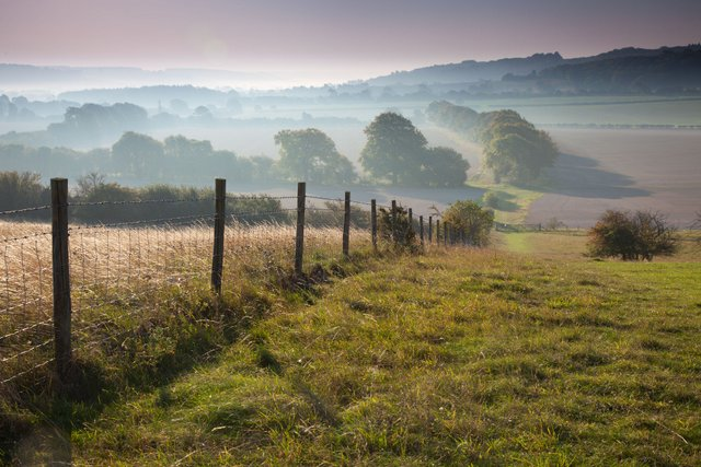 Early morning at Ivinghoe
