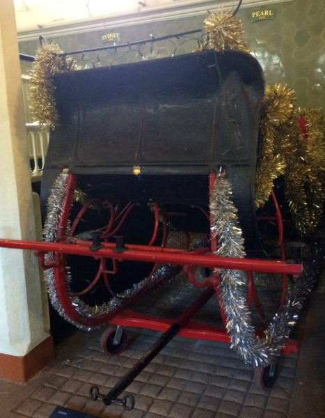 Santas sleigh - The Royal Mews