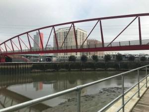 Trinity Buoy Wharf - Canning Town River Lea bridge