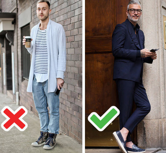Five Things Men Should Not Wear After 40 Aboutmans
