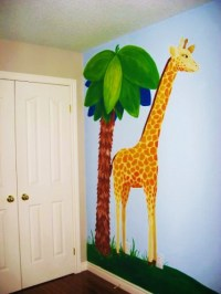 Jungle Wall Mural painted by Adrienne of AboutMurals.ca