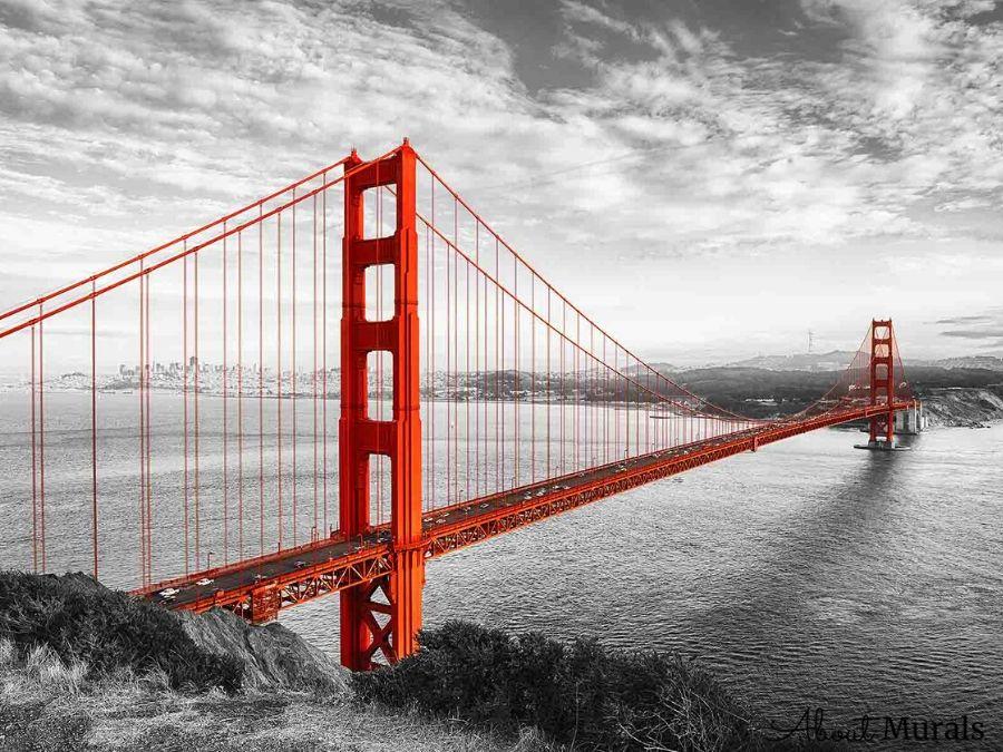 Golden Gate Bridge Wallpaper City Wall Murals From Aboutmurals Ca