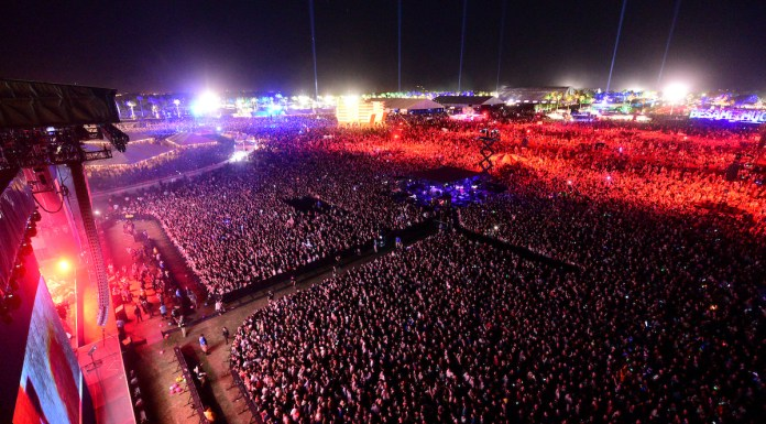 General atmosphere at Coachella, in Indio, CA, USA, on 15 April, 2016. © Courtesy of Coachella