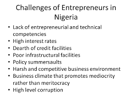 Challenges of Nigeria business environment