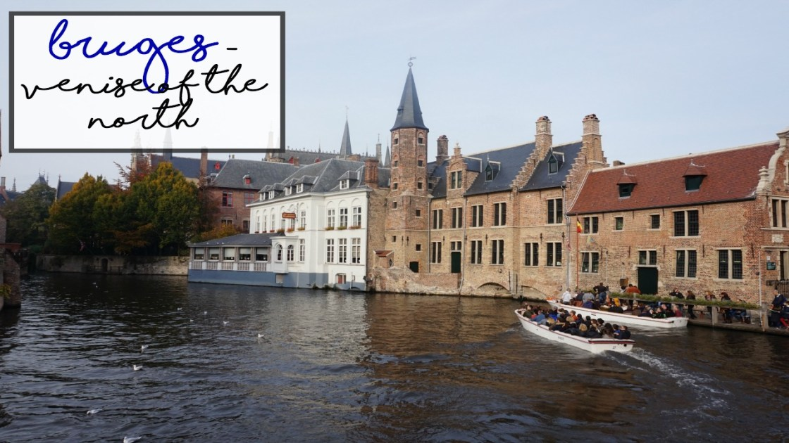 bruges - venise of the north travel vlog
