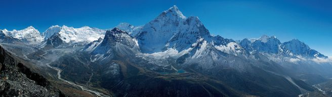 ama Dablam with Imja Valley