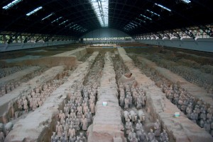 Терракотовая армия императора Цинь Шихуанди (https://www.flickr.com/photos/hbarrison/)