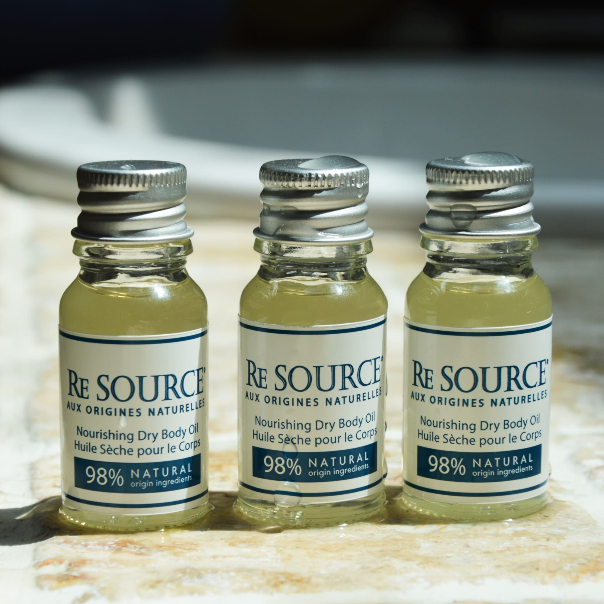 Dry body oils Re SOURCE