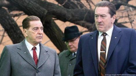 The Irishman - Al Pacino and Robert De Niro