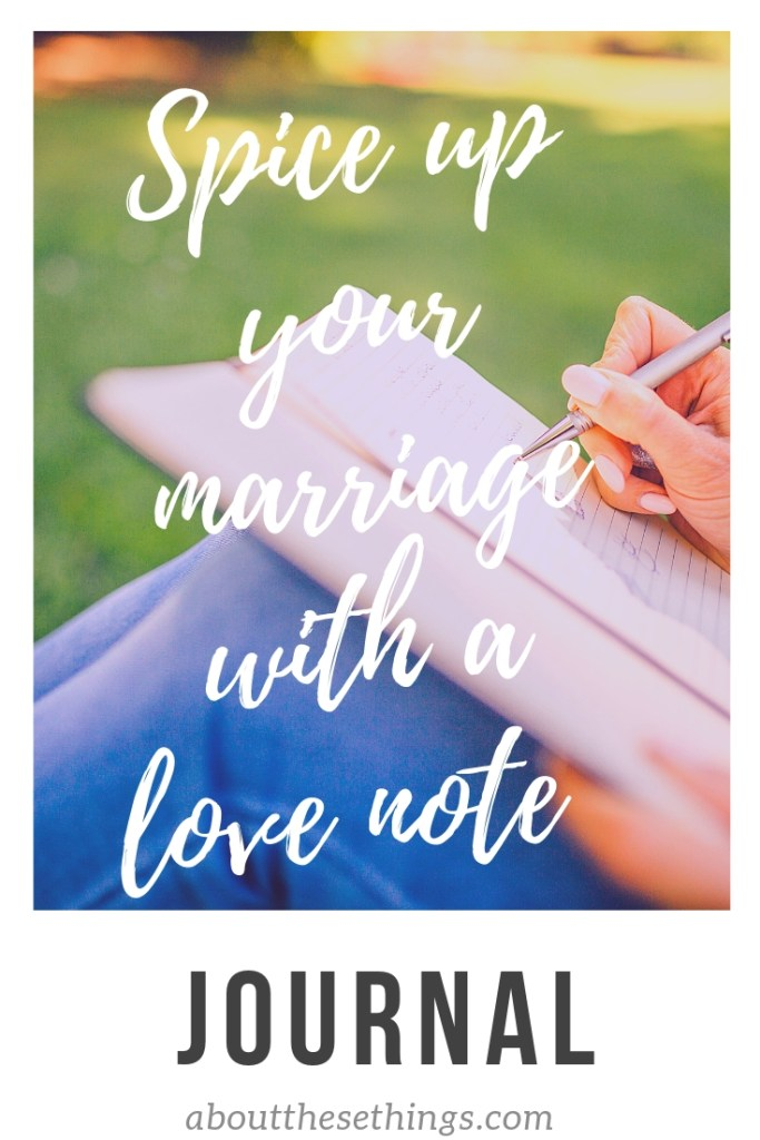 Couples Love Note Journal - couples journal - marriage advice - marriage tools - couples advice - couples tools