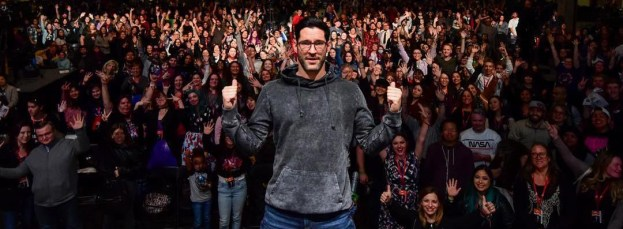Tom Ellis ACE Comic Con 2018