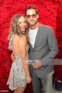 BEVERLY HILLS, CALIFORNIA - JULY 10: (L-R) Meaghan Oppenheimer and Tom Ellis as The American Friends of Covent Garden Celebrates 50 Years With A Special Event For The Royal Opera House and The Royal Ballet at Jean Georges Beverly Hills on July 10, 2019 in Beverly Hills, California. (Photo by Charley Gallay/Getty Images for for American Friends of Covent Garden )