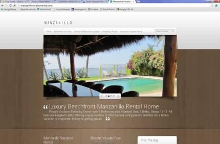 ManzanilloVacationRental.com :: Vacation Rental by Owner Website