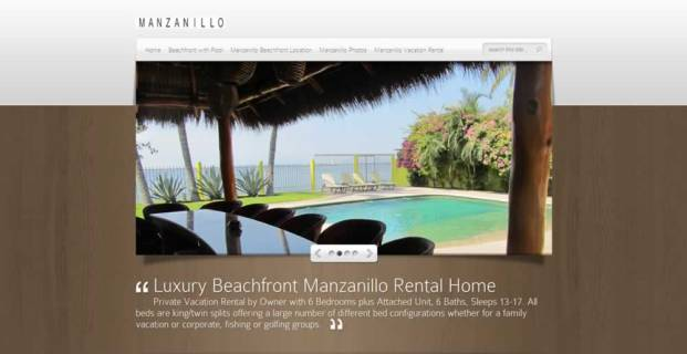 ManzanilloVacationRental.com :: Vacation Rental by Owner Website