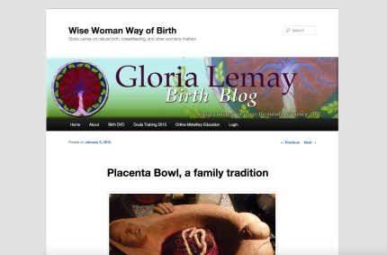 GloriaLemay.com :: Birth Health Website Blog