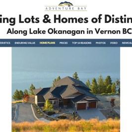 AdventureBayVernon.com :: Real Estate Developer Website