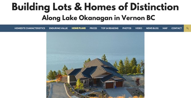 AdventureBayVernon.com :: Real Estate Developer Website