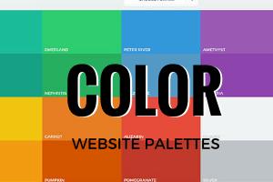 Color Palettes for Website Design