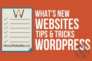 AboutWebsites Whats New Tips Tricks