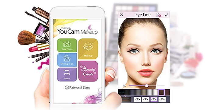 YouCam Makeup – Πρόβα μακιγιάζ στο κινητό σου!