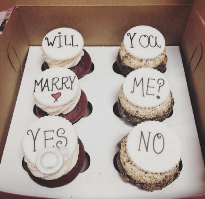 Ο πιο γλυκός τρόπος να κάνεις πρόταση γάμου!