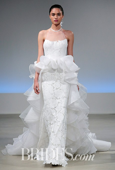 Wedding dress by Isabelle Armstrong