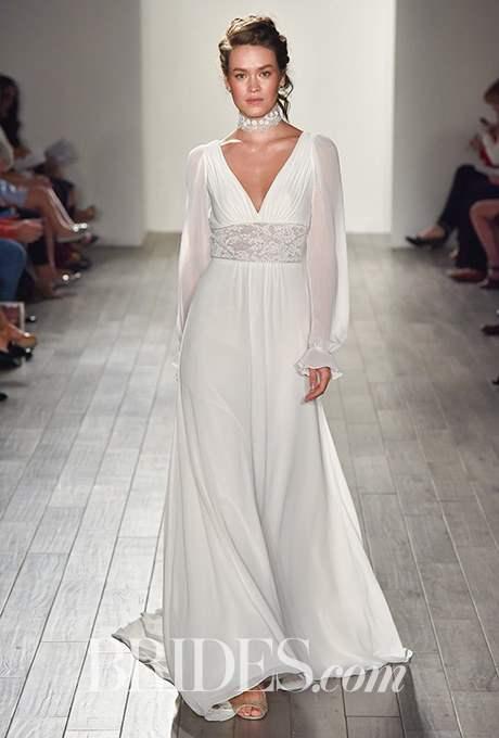 Wedding dress by Alvina Valenta