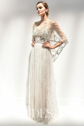 Photo: Edward James/Indigital.tv Wedding dress by Alon Livné