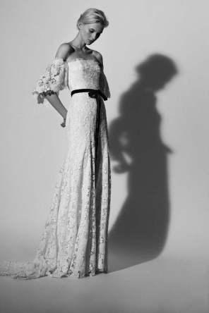 Wedding dress by Carolina Herrera