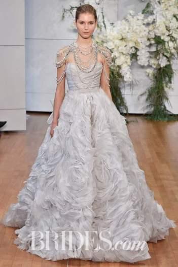 Rodin Banica / Indigital.tv Wedding dress by Monique Lhuillier