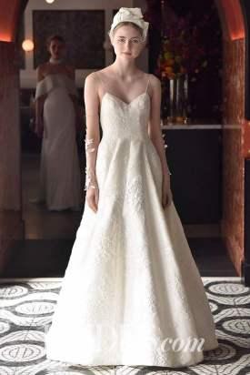 Photo: Rodin Banica/Indigital.tv Wedding dress by Lela Rose