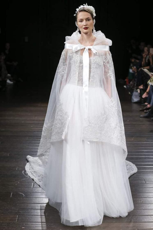 Dan Lecca Wedding dress by Naeem Khan