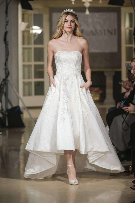 © DAN AND CORINA LECCA Wedding dress by Oleg Cassini