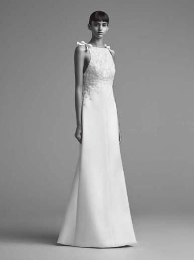 Courtesy of Viktor&Rolf Wedding dress by Elie Saab