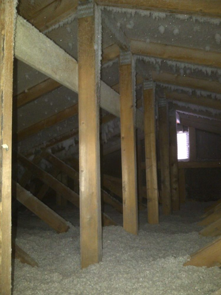 Above All Insulation Problem Condensation Newer House