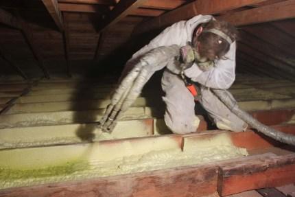 Winnipeg attic spray foam insulation