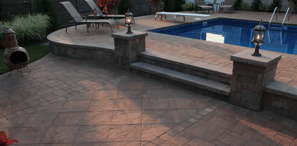 our long island cambridge pavers projects